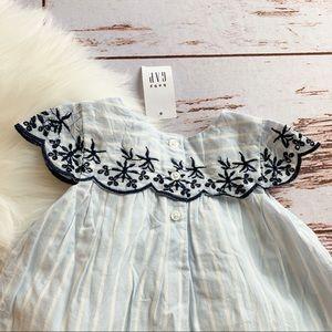 GAP Dresses - Baby Gap Boho Stripe Dress + Bloomers NWT